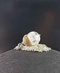 Echelkette Bergkristall